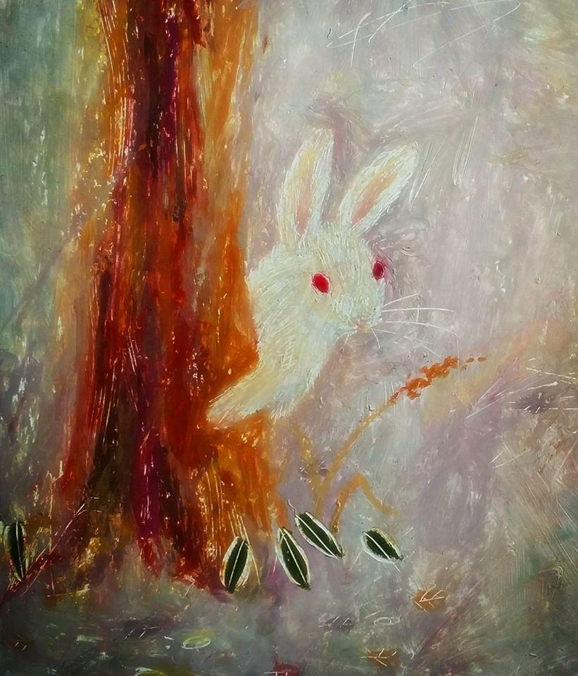 赤目ウサギ